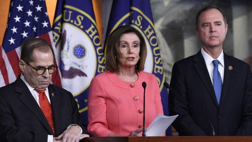 ABD Kongresindeki demokratlardan Başkan Trump'a karşı hamle
