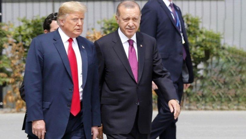 Son dakika: Cumhurbaşkanı Erdoğan ile ABD Başkanı Trump telefonda görüştü
