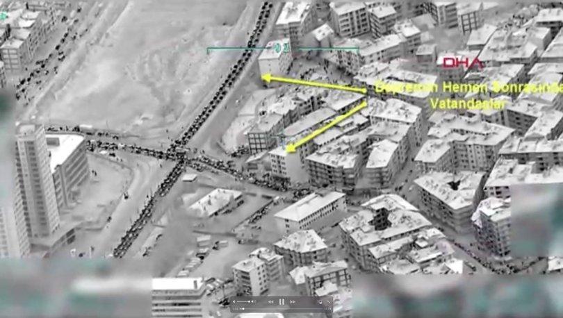 İHA'lar Elazığ depremini 25 dakikada görüntüledi