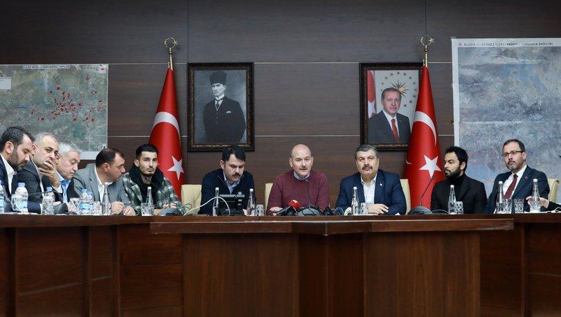 Kasapoğlu ve futbolcular Elazığ'da