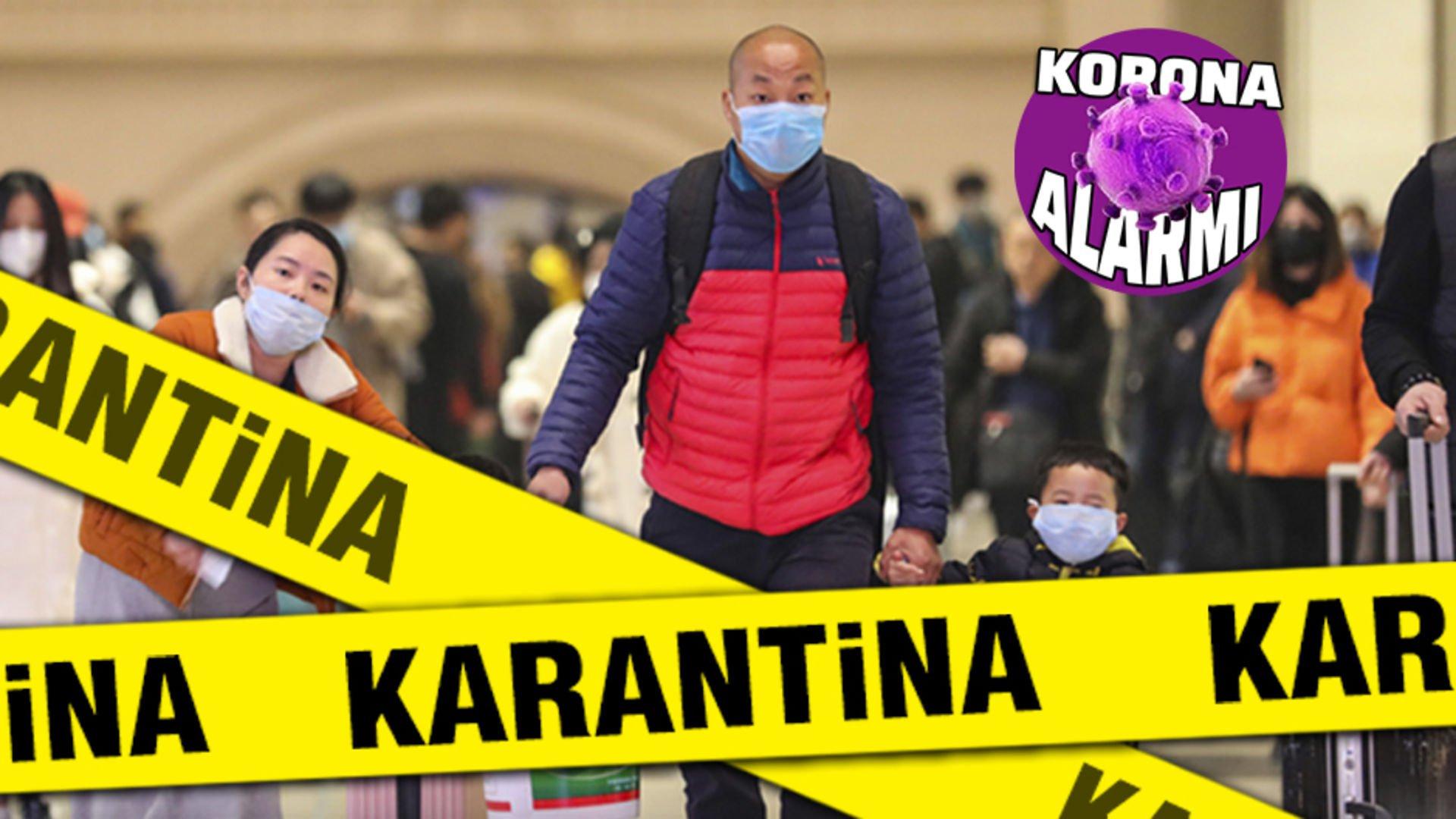 Binlerce kişi koronavirüs salgını nedeniyle Çin'den çıkmaya çalışıyor!