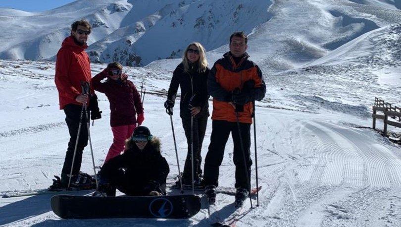Ekrem İmamoğlu Erzurum'da kar tatilinde