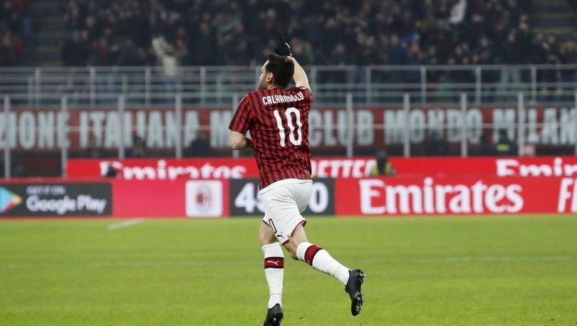 Hakan Çalhanoğlu, Milan'a hayat verdi, turu aldı!