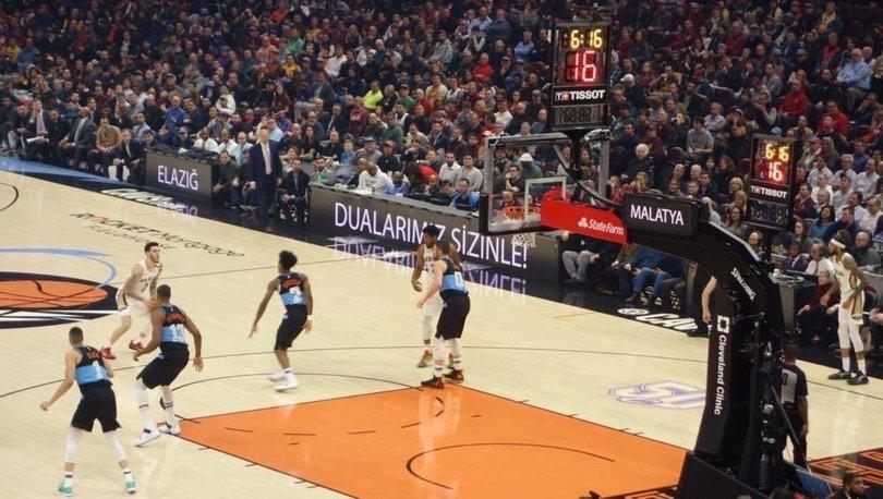 NBA'de Elazığ ve Malatya unutulmadı
