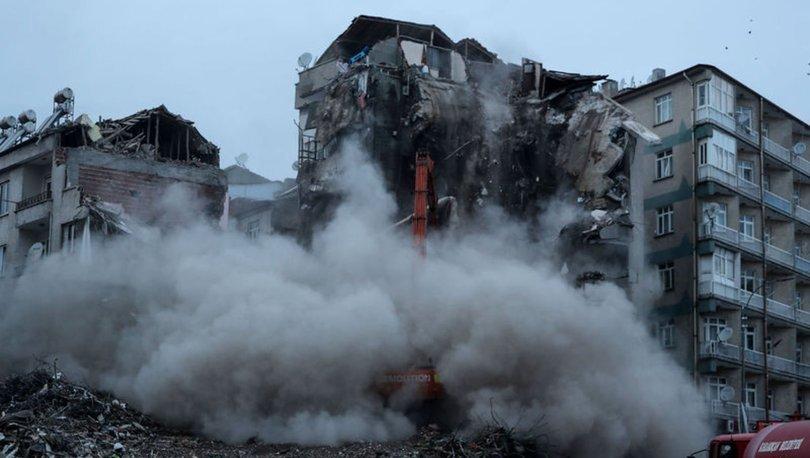 riskli binaların yıkılması