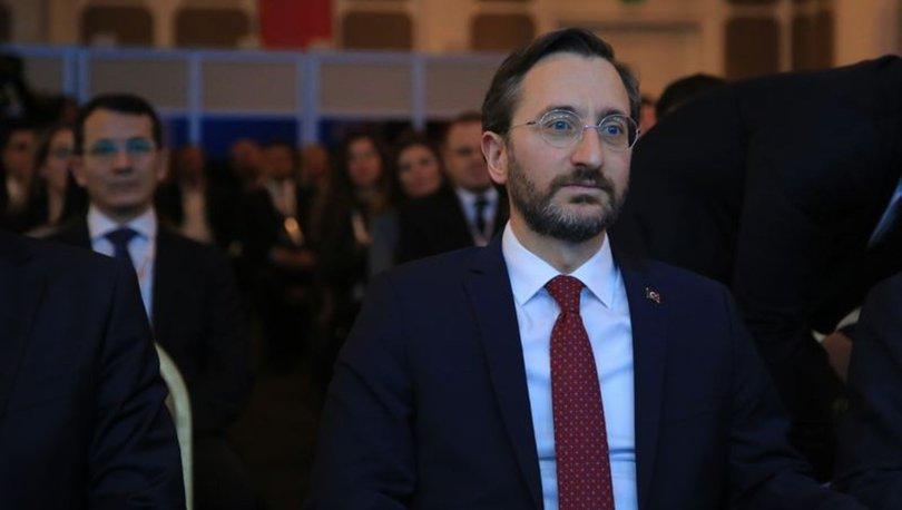 İletişim Başkanı Fahrettin Altun'dan