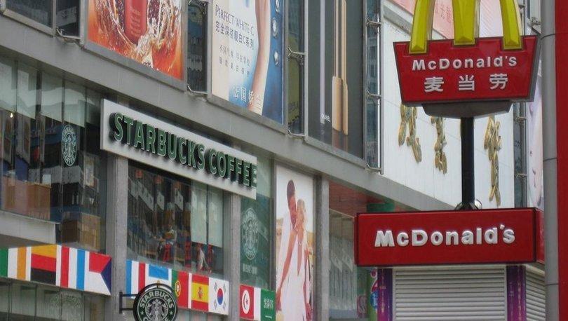 Starbucks McDonalds Çin