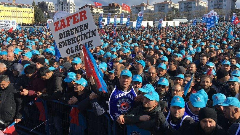 SON DAKİKA! Türk Metal Sendikası ve MESS uzlaştı: İşte 2020 metal işçisinin zam oranı