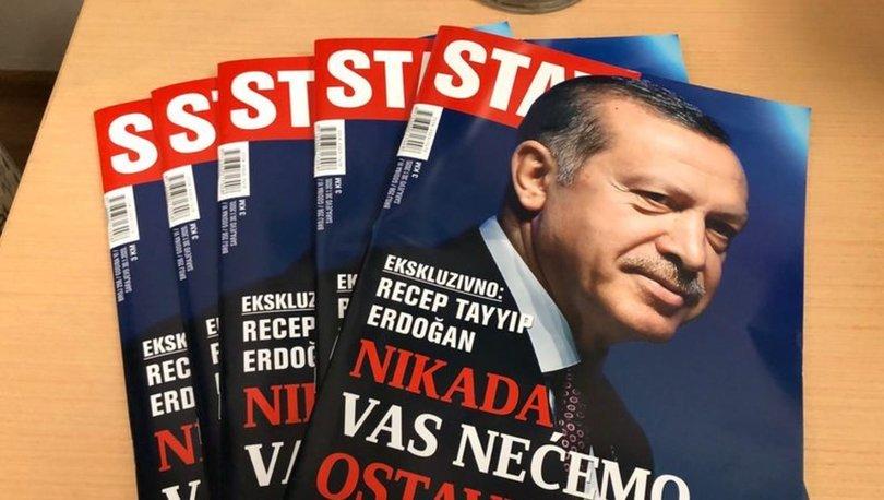 Cumhurbaşkanı Erdoğan, Bosna Hersek'teki Stav Dergisi'ne mülakat verdi