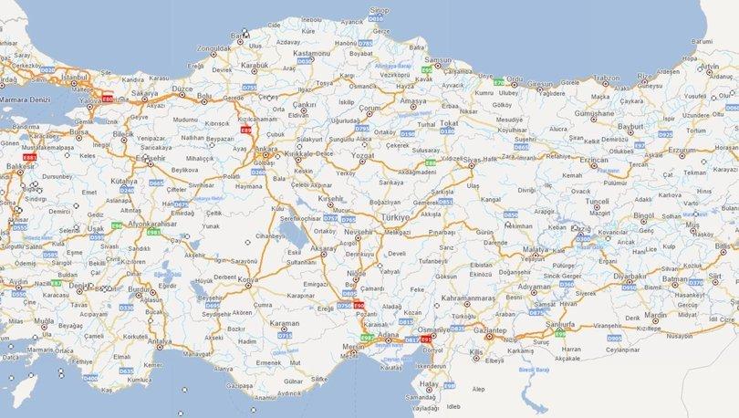 Deprem haritası sorgulama, fay hattı sorgulama 2020! Evimin altından fay hattı geçiyor mu?