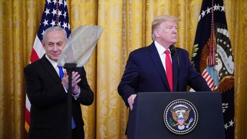 Times: Donald Trump'ın İsrailliler ve Filistinliler arasında barış için planı gerçekçi değil