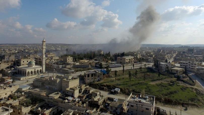 Suriye ordusu İdlib'de stratejik önemdeki Maarat El Numan'a girdi