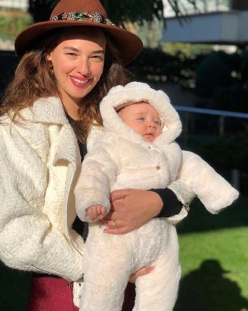 Seda Bakan'ın kızı Leyla 8 aylık oldu - Magazin haberleri