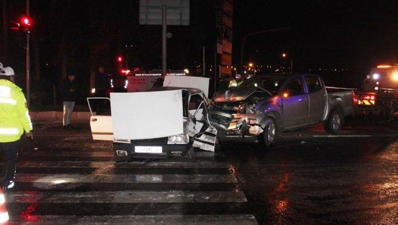 Mersin'de korkunç kaza: 1 ölü, 7 yaralı