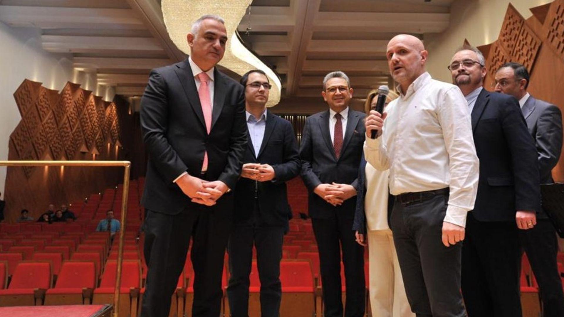 Bakan Mehmet Nuri Ersoy'dan Ustalık Sınıfı'na ziyaret