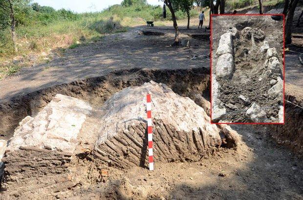 558 yılındaki depremin izleri Avcılar'da bulundu