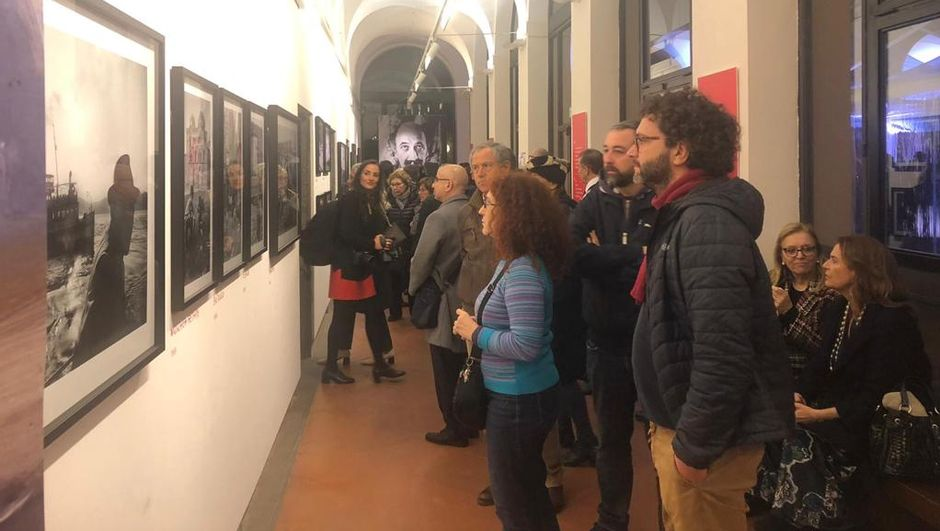 Ara Güler Sergisi Roma'da açıldı