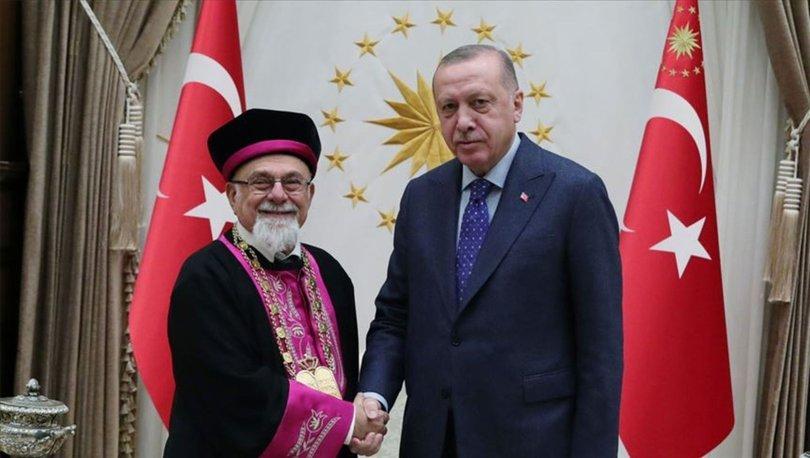 Cumhurbaşkanı Erdoğan, Türk Musevi heyetini kabul etti