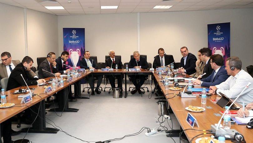 UEFA Şampiyonlar Ligi finalinin koordinasyon toplantısı yapıldı