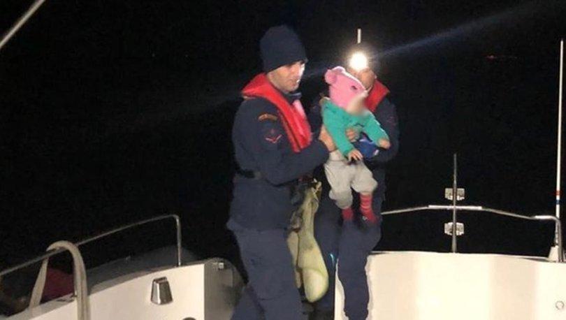 Kuşadası'nda 38 kaçak göçmen yakalandı