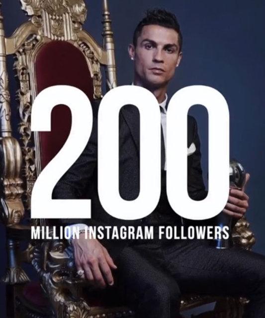 İşte Instagram'ın en çok takip edilen isimleri! Ronaldo zirvede!