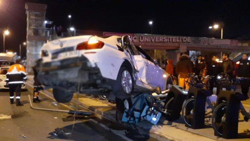Fatih'te zincirleme kaza: 6 yaralı