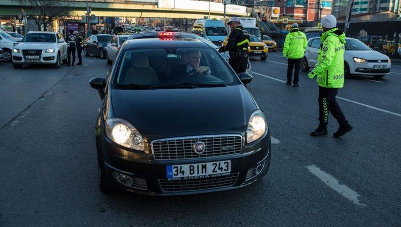 İstanbul'da usulsüz çakar kullanımına ceza yağdı