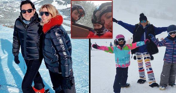 Eğlenceli kayak tatili...