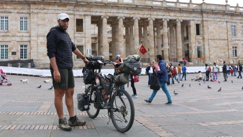 Bisikletle 8 yıldır dünyayı turlayan Türk!