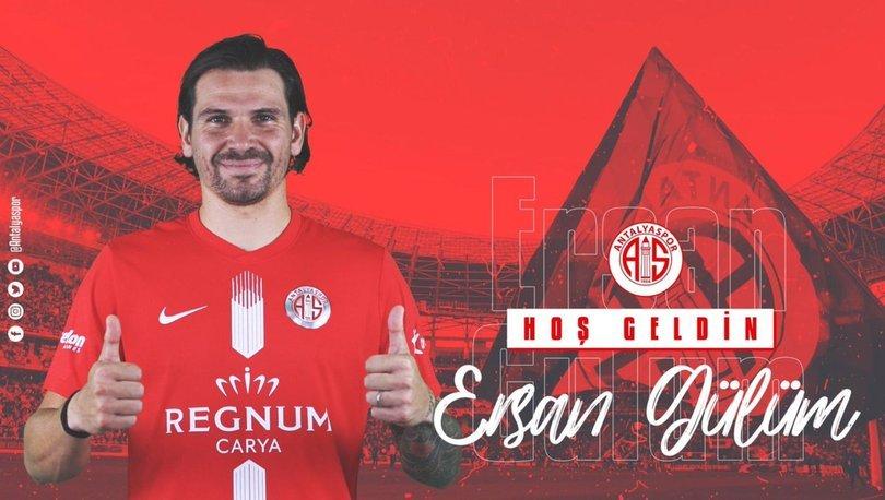 Antalyaspor, Ersan Gülüm ile resmi sözleşme imzaladı