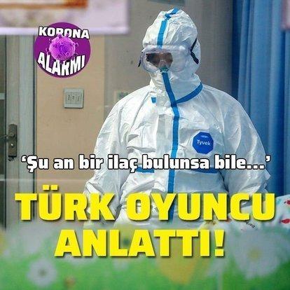 Çin'de yaşayan Türk oyuncu anlattı! Şu an bir ilaç bulunsa bile...