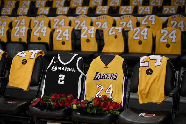 Kobe Bryant, Los Angeles Lakers - Portland Trail Blazers maçında anıldı
