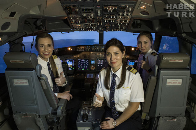 İşte THY'nin en genç pilotu - Haberler