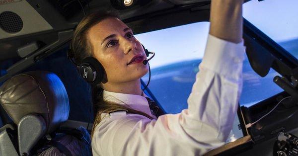 İşte THY'nin en genç pilotu