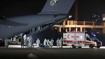 Çin'den Türkleri taşıyan uçak