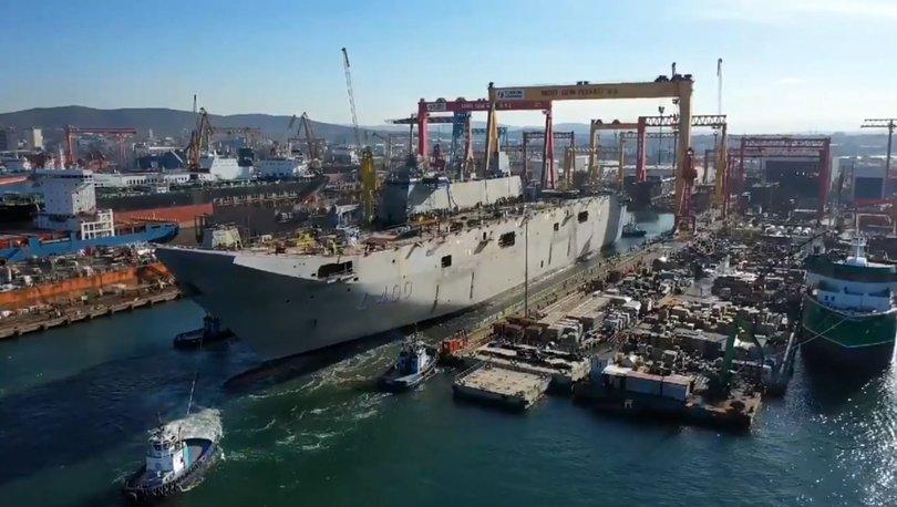 Türkiye'nin ilk yerli savaş uçak gemisi