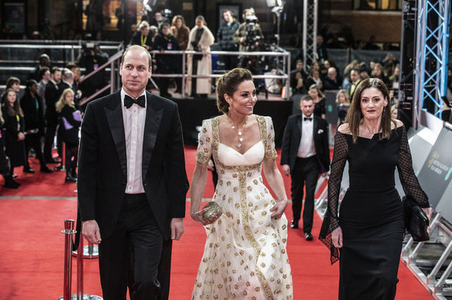 2020 BAFTA Ödülleri kırmızı halısından görüntüler