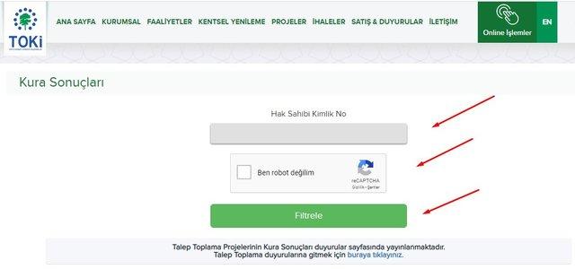 TOKİ kura sonuçları nasıl öğrenilir 2020? TOKİ İstanbul, Ankara il il kura sonuçları öğrenme ekranı