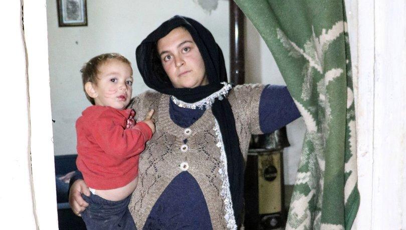 Antalya kapısız evde yaşayan aile