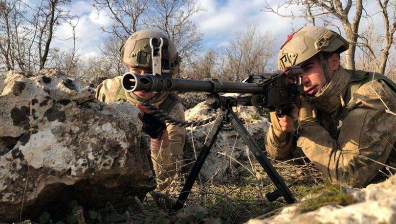 GRAFİKLİ - YPG/PKK'ya yılın ilk ayında ağır darbe