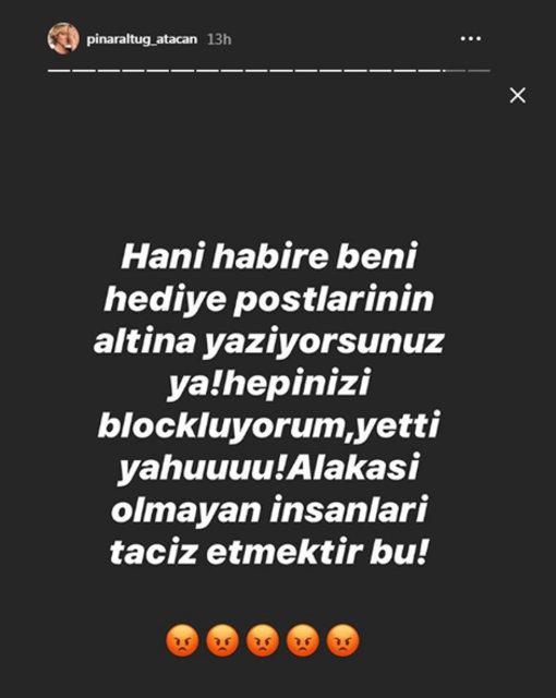 Pınar Altuğ Atacan'ın 'taciz' isyanı - Magazin haberleri