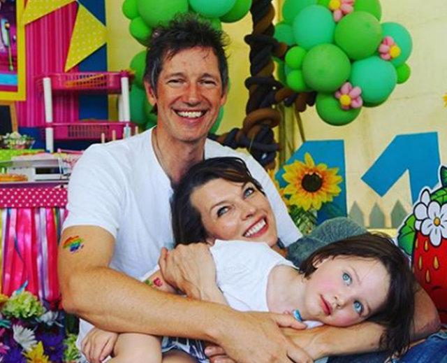 Milla Jovovich: O bizim mucize bebeğimiz - Magazin haberleri