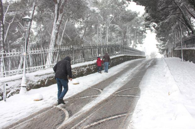 İstanbul'da kar kalınlığı ortalama 5 cm bekleniyor