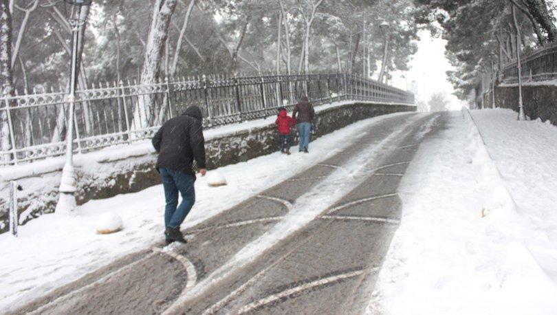 İTÜ İstanbul kar