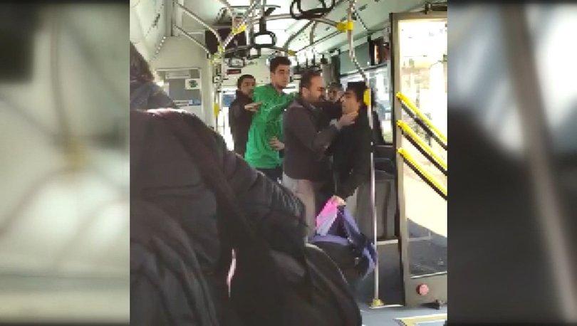 Halk otobüsü şoföründen akılalmaz hareket!
