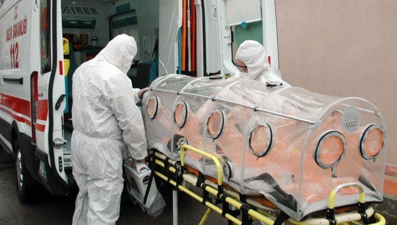 Koronavirüs vakalarında kullanılacak sedyeler