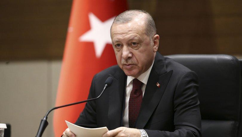 Cumhurbaşkanı Erdoğan'dan virüs uyarısı
