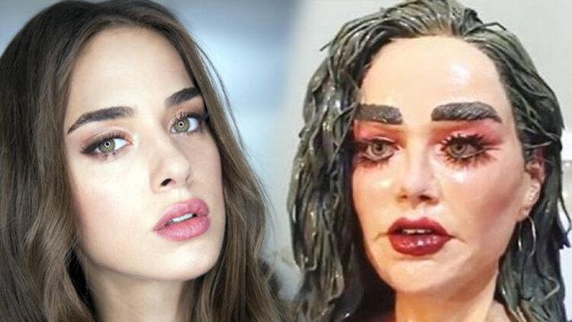 Bensu Soral'ın heykeli olay oldu - Magazin haberleri
