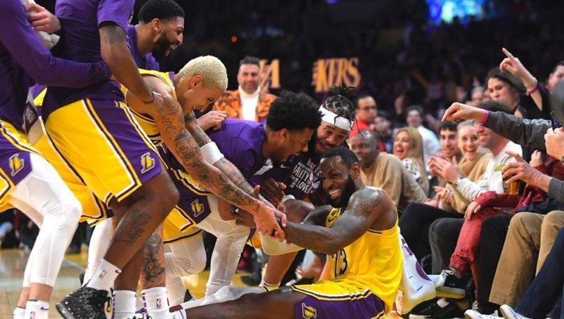 Los Angeles Lakers'tan rahat galibiyet