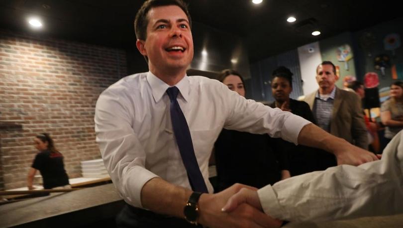 ABD başkanlık seçimleri - Demokrat Parti'nin Iowa'daki önseçiminde ilk sonuçlara göre Buttlieg önde